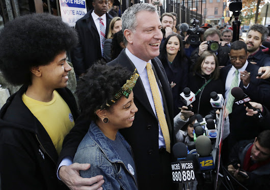 Bill de Blasio Wins NYC Mayoral Election
