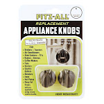 Tops Plastic Replacement Appliance Knobs Black