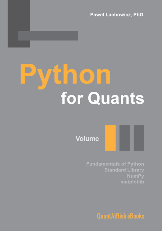 Python for Quants. Volume I.