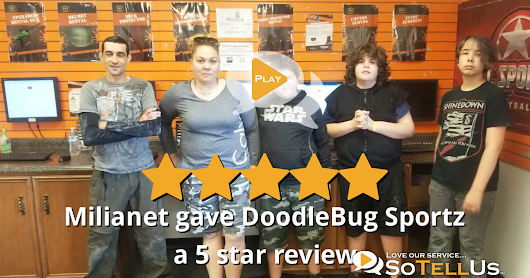 Milianet S gave DoodleBug Sportz a 5 star review