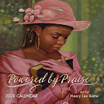 Shades of Color Powered by Praise 2020 Wall Calendar