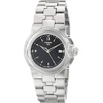 Tissot Women's T080.210.11.057.00 'T Sport' Black Dial Stainless Steel Quartz Watch T080.210.11.057.00