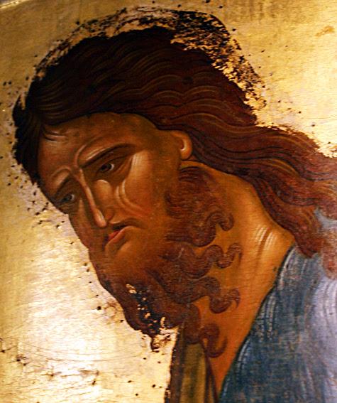 Christ, icône russe, 1502, monastère Ferapontov, Russie. (photo G. Grégor)