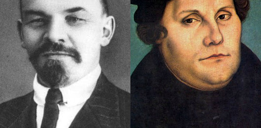 Like Lenin, Luther launched a bloody revolution – and yet he was let off the hook