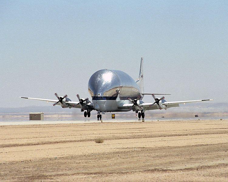 751px Super Guppy N941 NASA landing 20 Worlds Ugliest Aircraft Designs Ever
