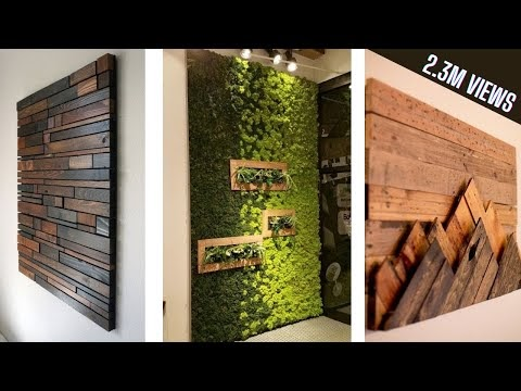 Wall decor design ideas 2020 | Modern Living Room Wall decorating Ideas