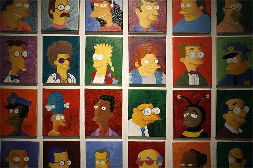 Simpsons Portraits