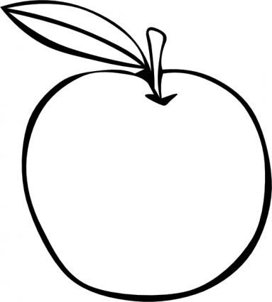 Elma Meyve Küçük Resim Boyama Vektör Küçük Resim Bedava Vektör