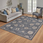 """Umbra Persian Vintage Collection, Oakdale Gray 5'3"""" x 7'"""