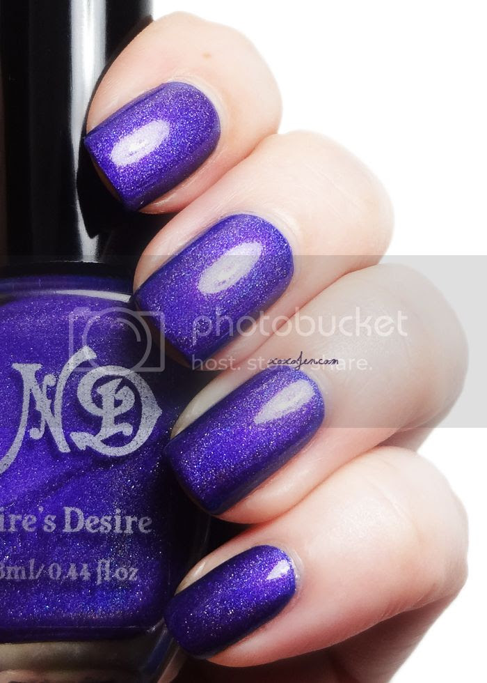 xoxoJen's swatch of For An Angel from Nire's Desire