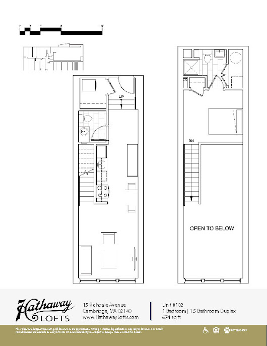 Floor Plans | Hathaway Lofts | Cambridge Apartments Porter Square