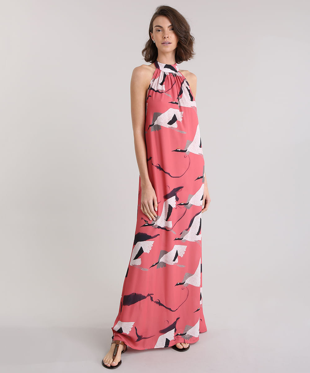 Vestido-Longo-Frente-Unica-Lenny-Niemeyer-Estampado-Passaros-Coral-8744808-Coral_1