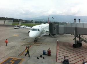 El aeropuerto sería mucho más pequeño que el Juan Santamaría. (Archivo CRH)
