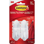 Command Designer Medium - Self-adhesive hook - white (pack of 2)