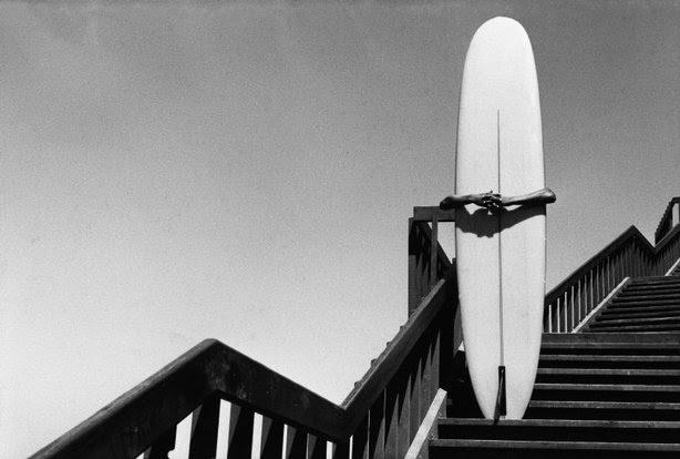 CALIFORNIA—A surfer at Corona del Mar, 1968. © Dennis Stock / Magnum Photos