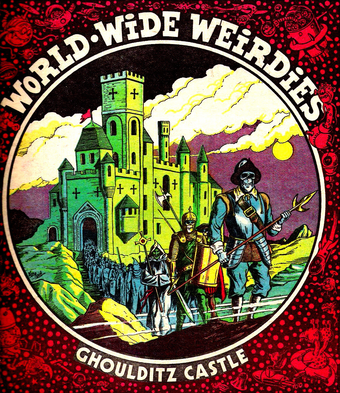 Ken Reid - World Wide Weirdies 51
