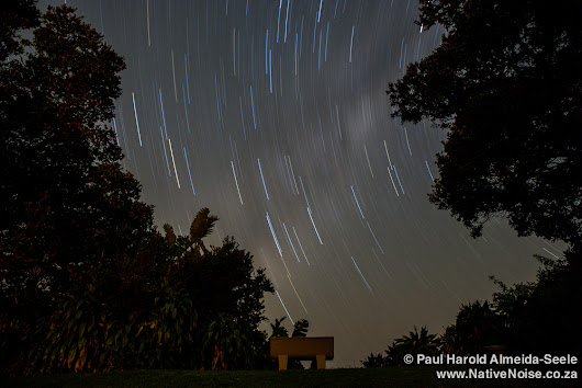 My first attempt at star trails