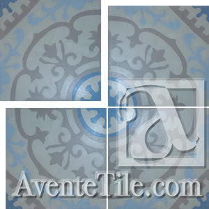 Cuban Heritage Pattern 140-4A Cement Tile