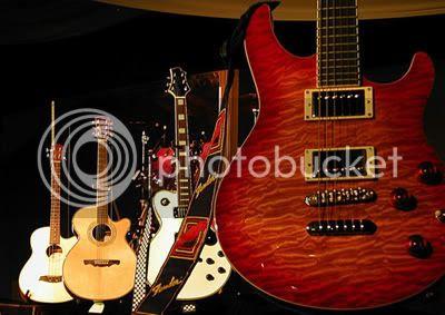 Some guitars, yesterday