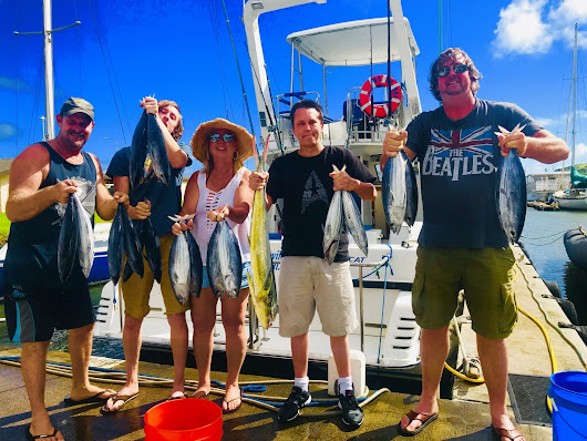 Good Fun Today! - Captain Trips Sportfishing Charters in Kauai