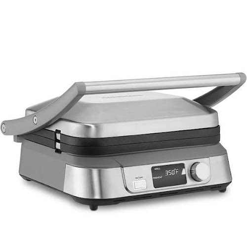 Cuisinart Series Griddler Five Multi-Purpose Contact Grill - Silver