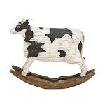 Benzara Pretty Ps Cow