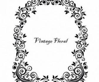 Floral Frame Vector Free Download