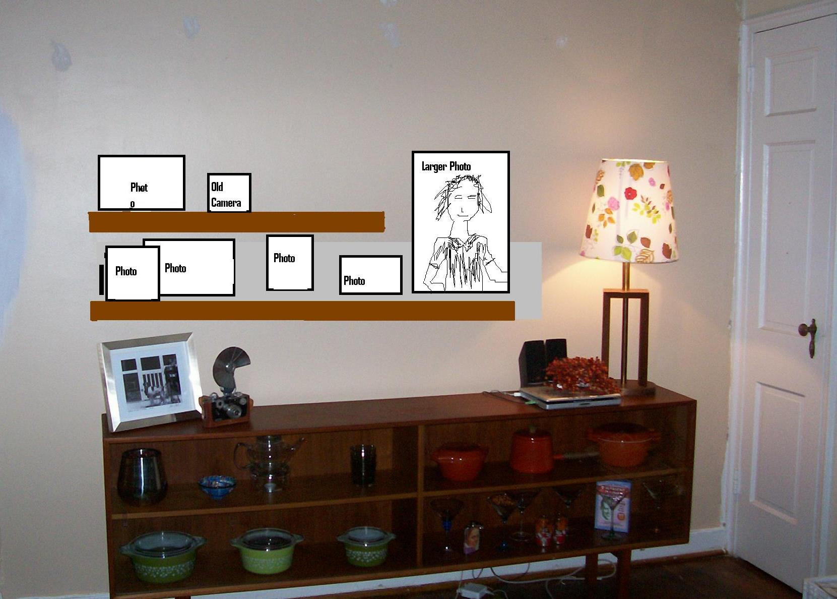 Built In Shelves Flanking Television Design Ideas Up Side