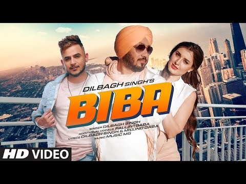 बिबा (BIBA) Lyrics in Hindi - Dilbagh Singh & Millind Gaba