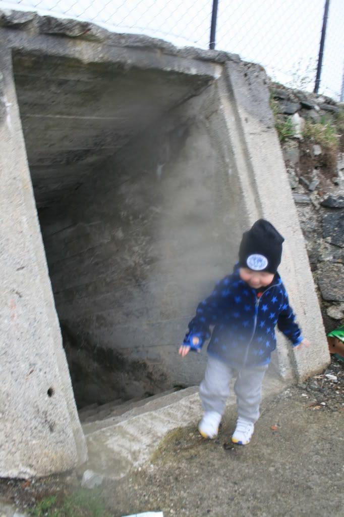 Bunkerser og tunneler.. spennende..! ;)