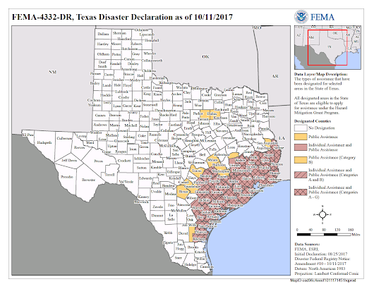 Texas Hurricane Harvey (DR-4332) | FEMA.gov