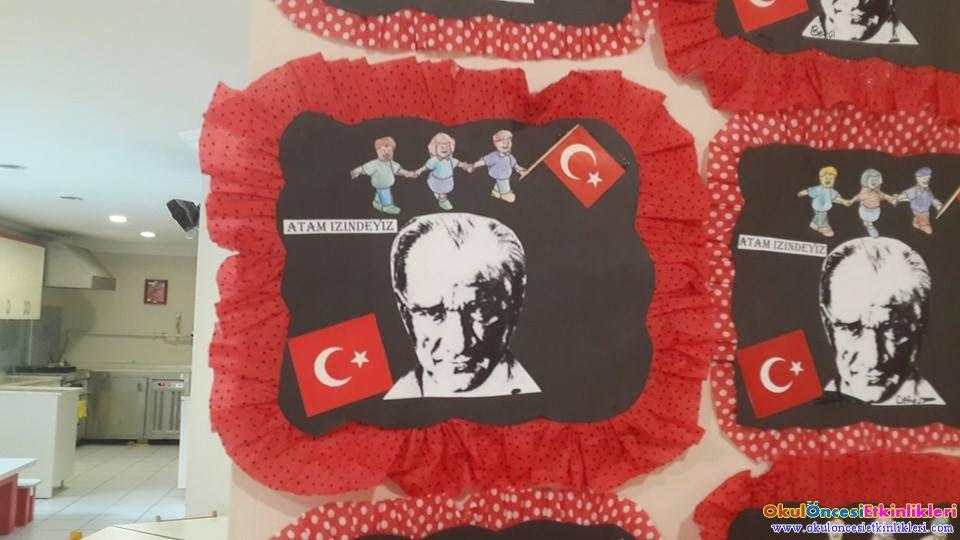 29 Ekim Cumhuriyet Bayramı Etkinlikleri Okul öncesi Etkinlikleri
