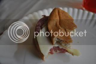 Santa's Sandwich