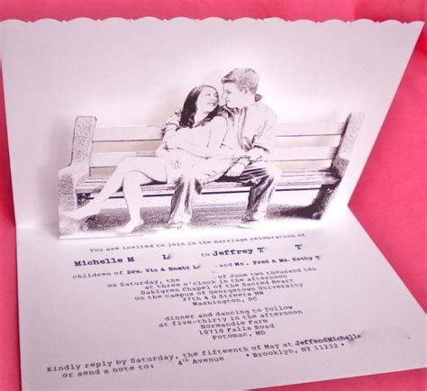 3D Wedding Invitations   Paperblog