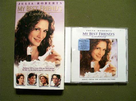My Best Friend's Wedding (VHS & CD) Julia Roberts