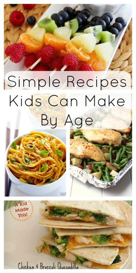 simple recipes kids    age