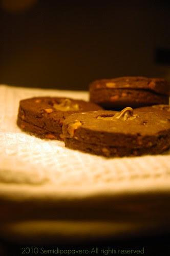 Biscotti ciocco-pistacchio