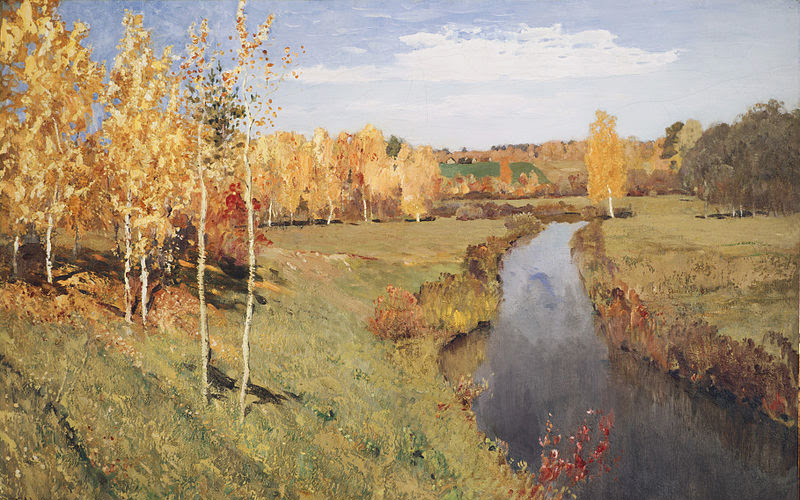 Isaac Levitan. The Golden Fall.