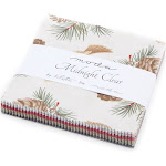 "Midnight Clear Charm Pack By 3 Sisters; 42-5"" Precut Fabric Quilt Squares"