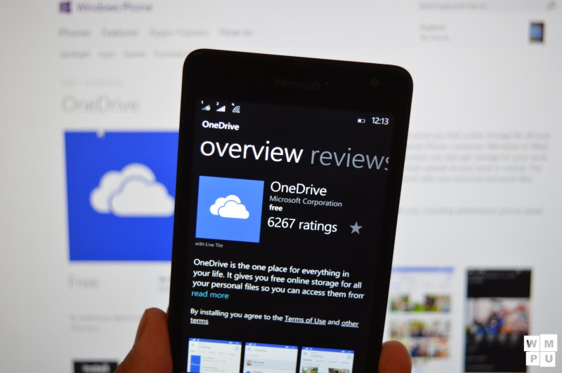 OneDrive App Receives Minor Update In Windows Store – MSPoweruser.com