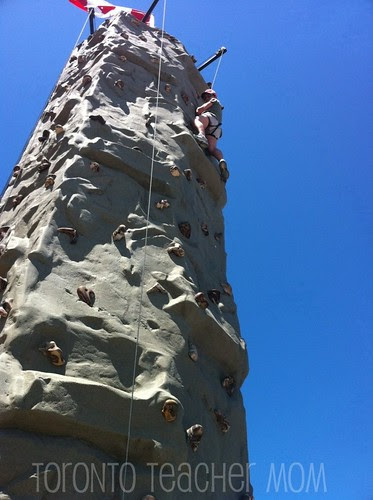 Tackling the Wall at Blue Mountain