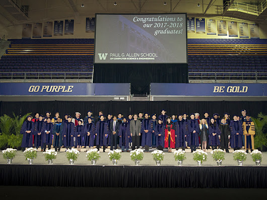 Allen School News » Allen School celebrates the graduating class of 2018