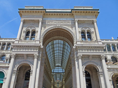Vittorio Emanuele II Shopping Mall