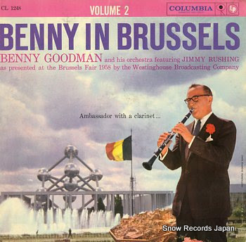 GOODMAN, BENNY in brussels vol.2