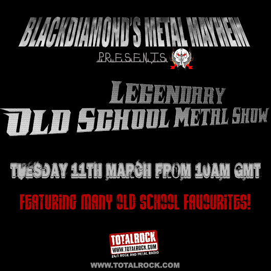 Upcoming Show 11/03/14: Legendary Old School Metal Show