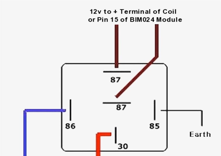 6 Pole Relay Wiring Diagram