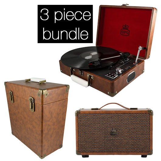 Buy GPO Attache Bundle - Vintage Brown Online | Rockit Record Players