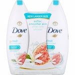 Dove Go Fresh Blue Fig and Orange Blossom Body Wash, 22 oz, Twin Pack