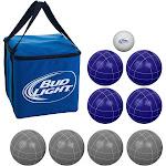 Trademark Games Bud Light 100mm Bocce Ball Set