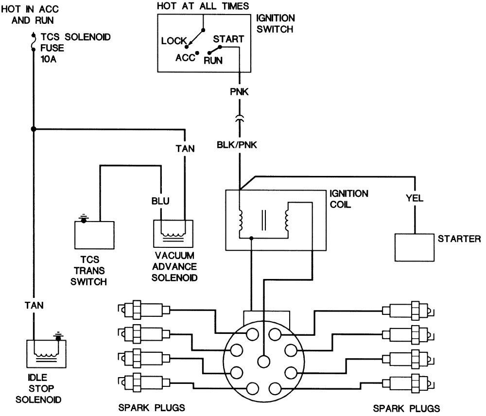 Chevrolet 82 Corvette Alternator Wiring